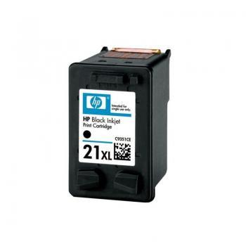 Cartucho de Tinta Original HP nº21 XL Alta Capacidad/ Negro - Imagen 1