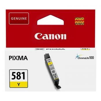 Cartucho de Tinta Original Canon CLI-581Y/ Amarillo - Imagen 1