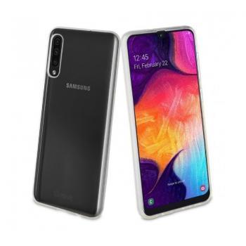 Funda Muvit MUCRS0225 para Samsung Galaxy A50S/ A30S/ A50/ Transparente - Imagen 1
