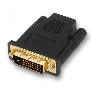 Adaptador Aisens A118-0091/ DVI Macho - HDMI hembra - Imagen 1