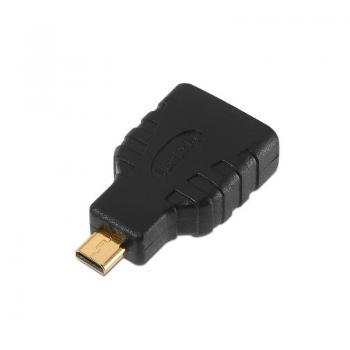 Adaptador Aisens A121-0125/ HDMI Hembra - Micro HDMI Macho - Imagen 1