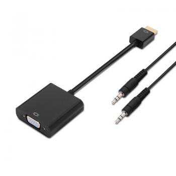 Adaptador Aisens A122-0126/ HDMI Macho - VGA Hembra/ Jack 3.5 Hembra - Imagen 1