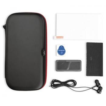 Pack Gaming Trust GXT 1241 Tidor XL/ Estuche rígido + Protector Pantalla + Auriculares + Caja Almacenamiento de Tarjetas de Jueg