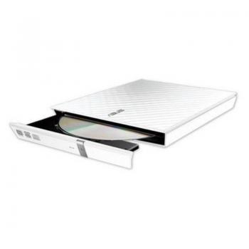 Grabadora Externa CD/DVD Asus SDRW-08DS2S-U Lite/ Blanco - Imagen 1