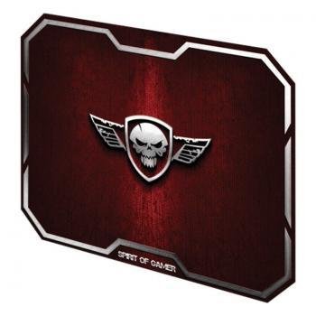 Alfombrilla Spirit of Gamer Winged Skull M/ 296 x 236 x 3 mm/ Rojo - Imagen 1