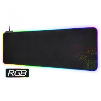 Alfombrilla Spirit of Gamer Skull RGB Gaming con Iluminación LED/ 800 x 300 x 3 mm - Imagen 1