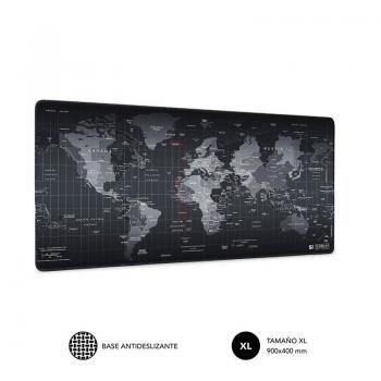 Alfombrilla Subblim 01PUW01 World XL/ 900 x 400 x 3 mm - Imagen 1