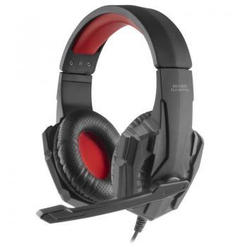 Auriculares Gaming con Micrófono Mars Gaming MH020/ Rojo - Imagen 1
