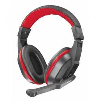 Auriculares Gaming con Micrófono Trust Gaming Ziva/ Rojo - Imagen 1