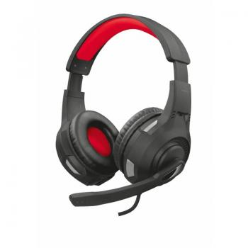 Auriculares Gaming con Micrófono Trust Gaming GXT 307 Ravu/ Rojo - Imagen 1