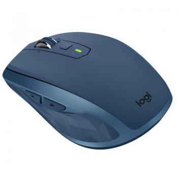 Ratón Inalámbrico por Bluetooth/ 2,4GHz Logitech MX Anywhere 2S/ Hasta 4000 DPI/ Verde Azulado - Imagen 1