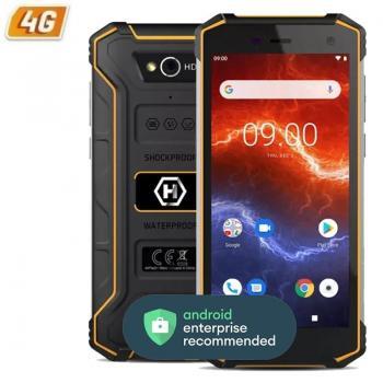 Smartphone Ruggerizado Hammer Energy 2 3GB/ 32GB/ 5.5'/ Negro Naranja - Imagen 1