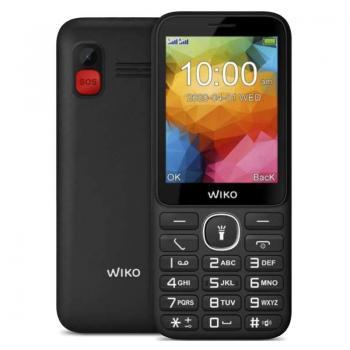 Teléfono Móvil Wiko F200 para Personas Mayores/ Negro - Imagen 1