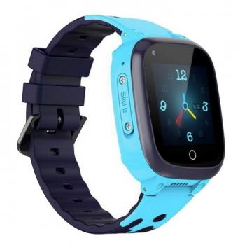 RELOJ INTELIGENTE CON LOCALIZADOR PARA NIÑOS INNJOO KIDS WATCH 4G BLUE - PANTALLA 3.30CM - GPS/LBS/WIFI - TERMÓMETRO - VIDEOLLAM