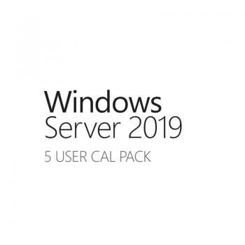 Licencia HPE Windows Server 2019/ CAL/ 5 Usuarios - Imagen 1