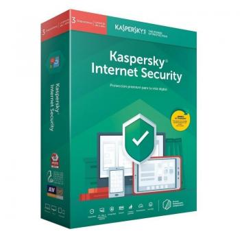 Antivirus Kaspersky Internet Security 2020/ 3 Dispositivos/ 1 Año - Imagen 1
