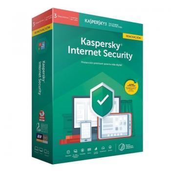 Antivirus Kaspersky Internet Security 2020/ 3 Dispositivos/ 1 Año/ Renovación - Imagen 1