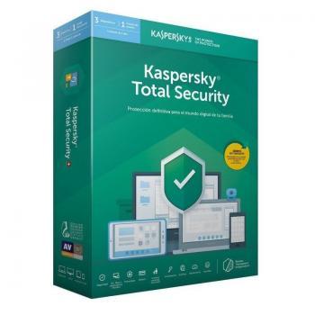 Antivirus Kaspersky Total Security 2020/ 3 Dispositivos/ 1 Año - Imagen 1