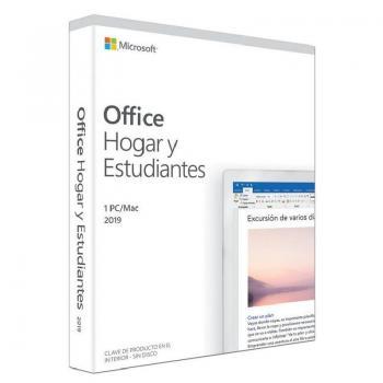 Microsoft Office 365 Hogar y Estudiantes 2019/ 1 Usuario/ Licencia Perpetua - Imagen 1