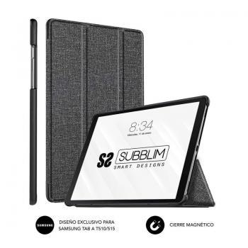 Funda Subblim Shock para Tablets Samsung GT A T510/515/ Negra - Imagen 1