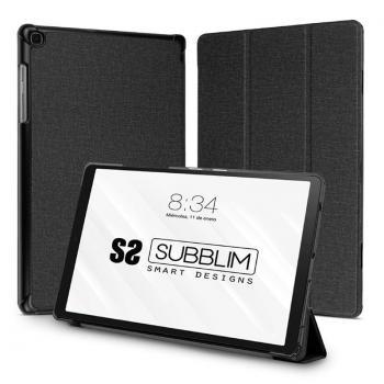 Funda Subblim Shock Case para Tablet Samsung Tab A7 T500/505 10.4'/ Negra - Imagen 1
