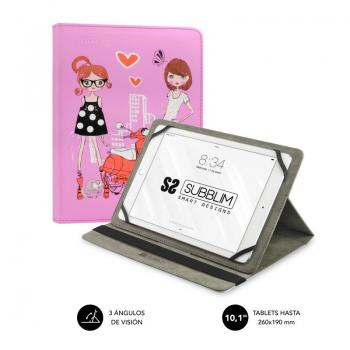 Funda Subblim Trendy Fashion Girls para Tablets de 10.1' - Imagen 1