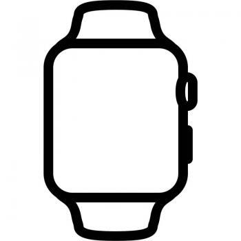 APPLE WATCH S6 40MM GPS CELLULAR CAJA ACERO CON CORREA BLANCA SPORT BAND - M06T3TY/A - Imagen 1