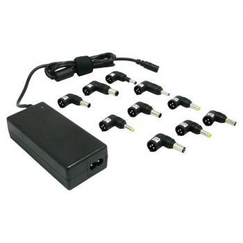 Cargador de Portátil Leotec/ 70W/ Automático/ 10 Conectores/ Voltaje 15-20V - Imagen 1