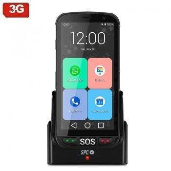 Smartphone SPC Apolo 1GB/ 16GB/ 5'/ Negro - Imagen 1