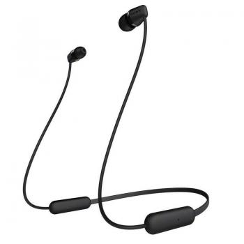 Auriculares Inalámbrico Intrauditivos Sony WIC200B.CE7/ con Micrófono/ Bluetooth/ Negro - Imagen 1
