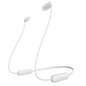 Auriculares Inalámbrico Intrauditivos Sony WIC200W.CE7/ con Micrófono/ Bluetooth/ Blanco - Imagen 1