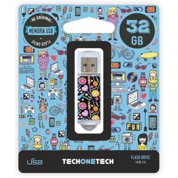 Pendrive 32GB Tech One Candy Pop USB 2.0 - Imagen 1