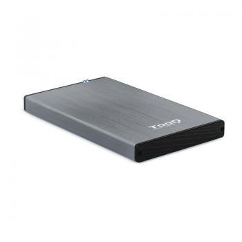 Caja Externa para Disco Duro de 2.5' TooQ TQE-2527G/ USB 3.1 - Imagen 1