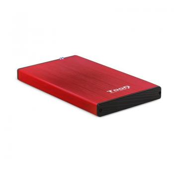 Caja Externa para Disco Duro de 2.5' TooQ TQE-2527R/ USB 3.1 - Imagen 1