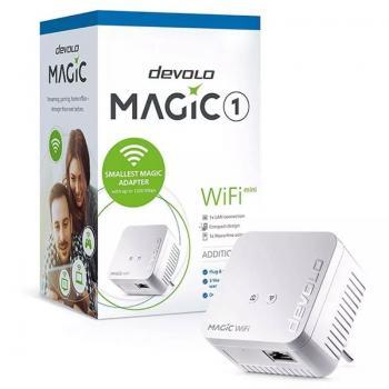 PLC/POWERLINE DEVOLO MAGIC 1 WIFI MINI - 1200MBPS (PLC)/300MBPS (WIFI) - RJ45 - CONEXIÓN EN RED MESH - Imagen 1