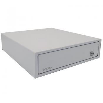 Cajón Portamonedas Approx appCASH33WH/ Manual y Automático/ Blanco - Imagen 1