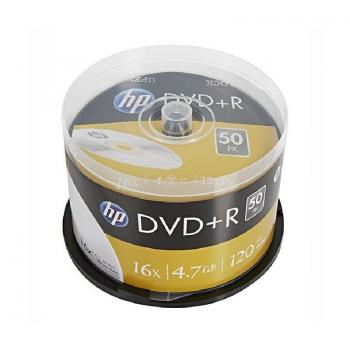 DVD+R HP DRE00026-3 16X/ Tarrina-50-uds - Imagen 1