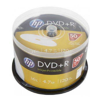 DVD+R HP DRE00026WIP-3 PRINT 16X/ Tarrina-50uds - Imagen 1