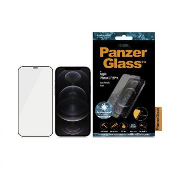Protector de Pantalla Panzerglass 2711 para iPhone 12/ 12 Pro/ Negro - Imagen 1