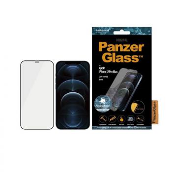 Protector de Pantalla Panzerglass 2712 para iPhone 12 Pro Max/ Negro - Imagen 1