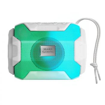 Altavoz con Bluetooth Mars Gaming MSBAXW/ 10W/ 1.0/ Blanco - Imagen 1
