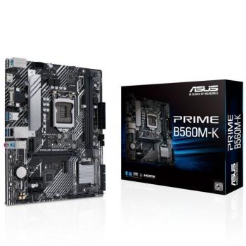 Placa Base Asus Prime B560M-K Socket 1200/ Micro ATX - Imagen 1