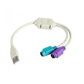 CABLE USB-PS2 3GO C101 - Imagen 1