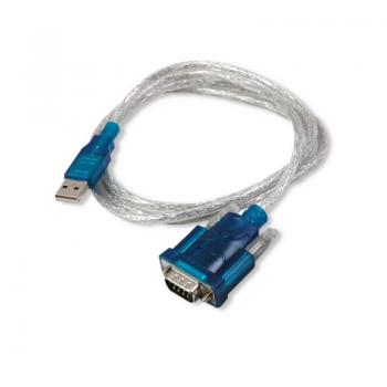 Cable USB 3GO C102/ USB Macho - RS232 Macho/ 50cm/ Negro - Imagen 1