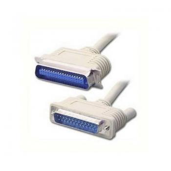 Cable Impresora LPT1 3GO C301/ DB25 Macho - C36 Macho/ 1.8m - Imagen 1