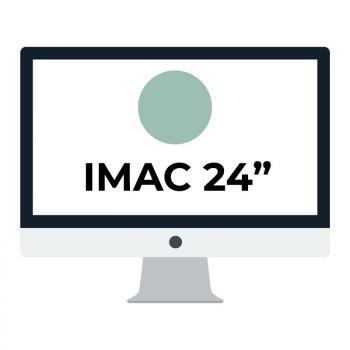 Apple iMac 24' Retina 4.5K/ Chip M1 CPU 8 Núcleos/ 8GB/ 512GB/ GPU 8 Núcleos/ Verde - Imagen 1