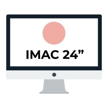 Apple iMac 24' Retina 4.5K/ Chip M1 CPU 8 Núcleos/ 8GB/ 256GB/ GPU 8 Núcleos/ Rosa - Imagen 1