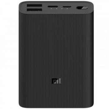 Powerbank 10000mAh Xiaomi Mi Power Bank 3 Ultra Compac/ Negra - Imagen 1