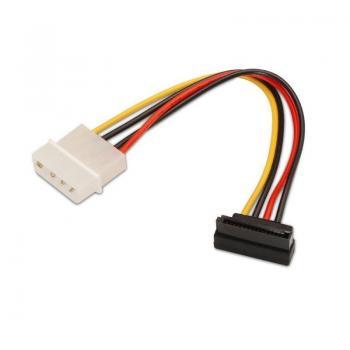 Cable Alimentación SATA Aisens A131-0160/ Molex 4 PIN Macho - SATA Hembra/ 16cm - Imagen 1