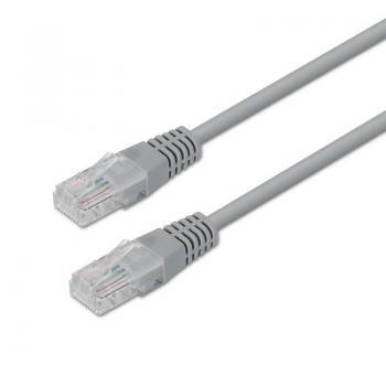 Cable de Red RJ45 UTP Aisens A133-0184 Cat.5e/ 15m/ Gris - Imagen 1